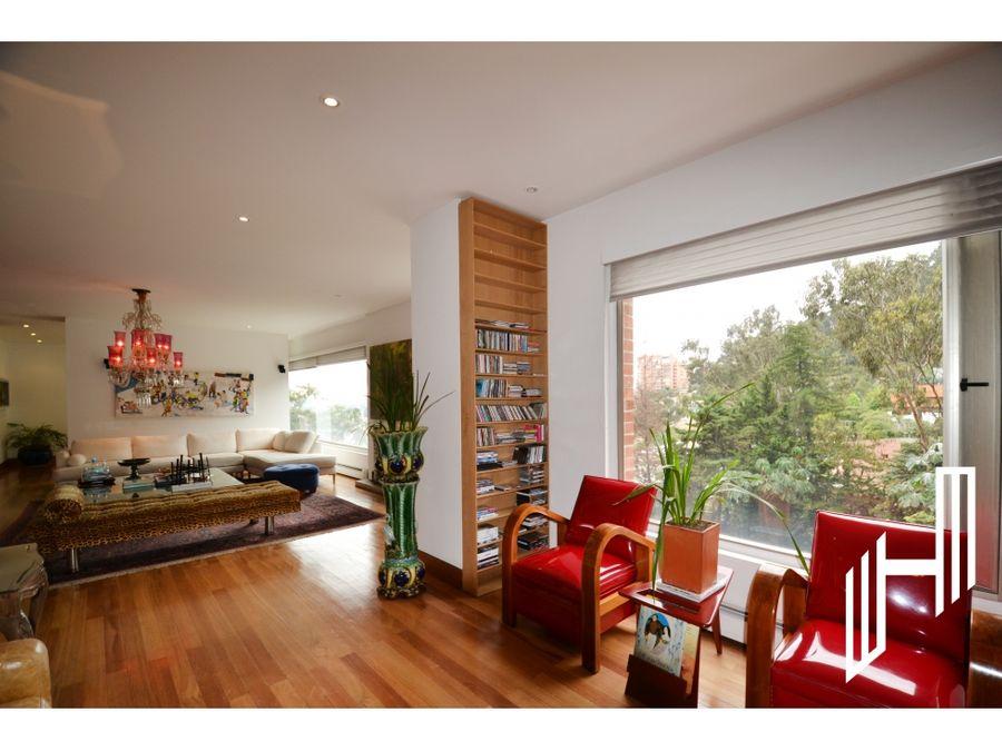 apartamento amoblado con terraza para arriendo