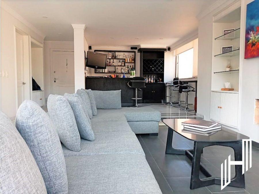 apartamento para arriendo con terraza en la calleja