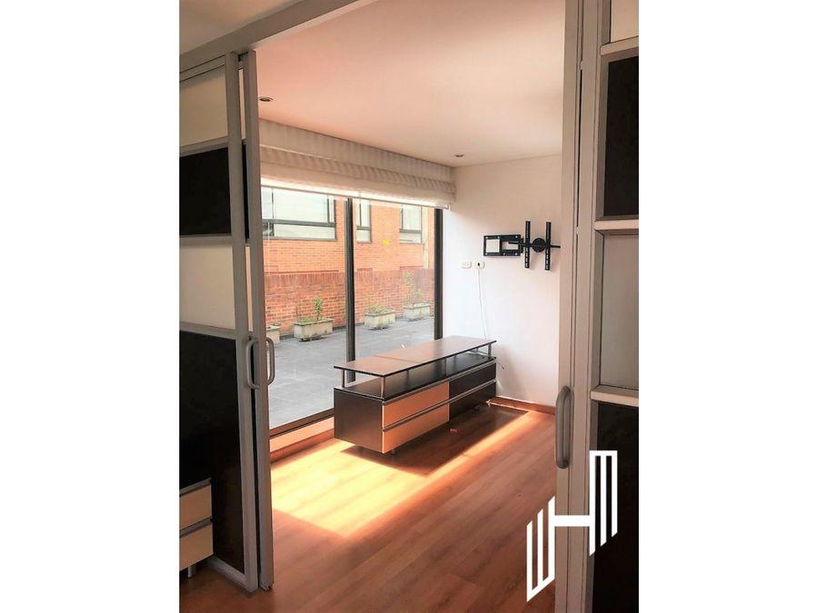 arriendo apartamento con terraza en chico