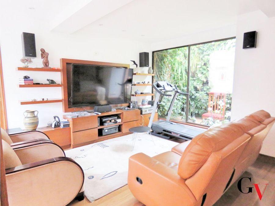apartamento con terrazas en chico reservado
