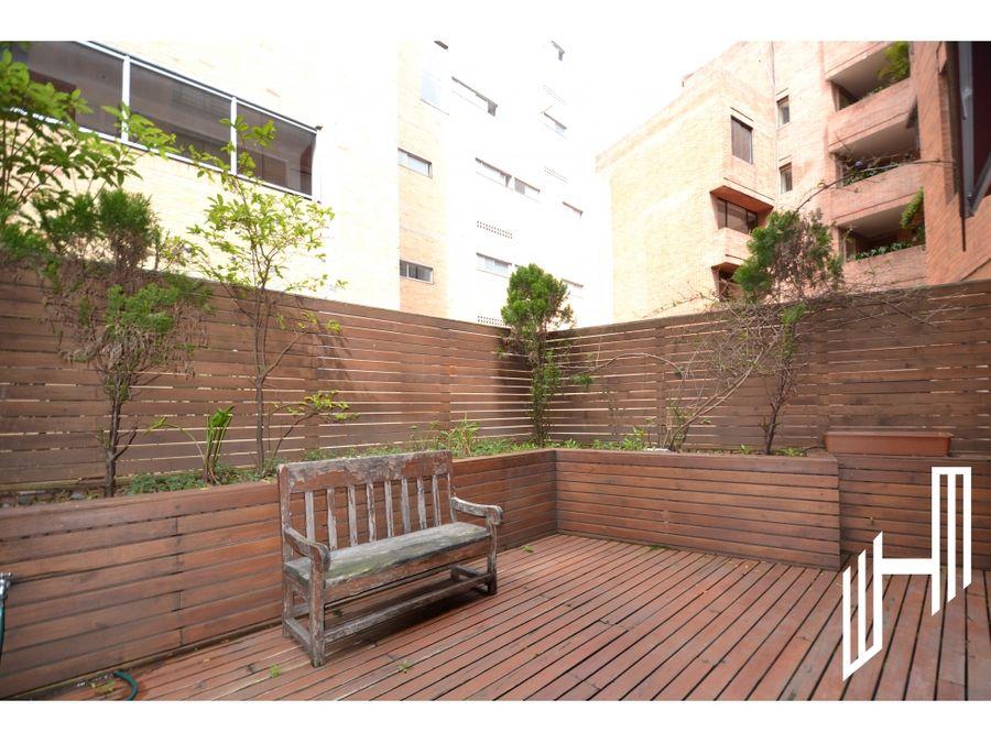 apartamento para arriendo en chapinero alto con terraza