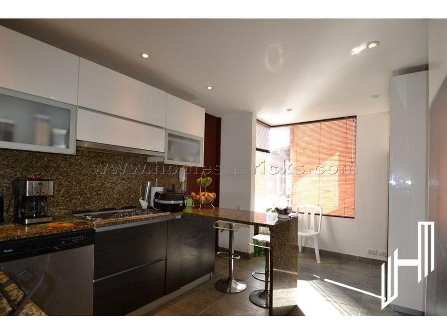 moderno apartamento para venta en bosque medina