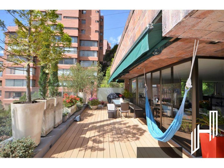 apartamento con terraza para venta en el refugio