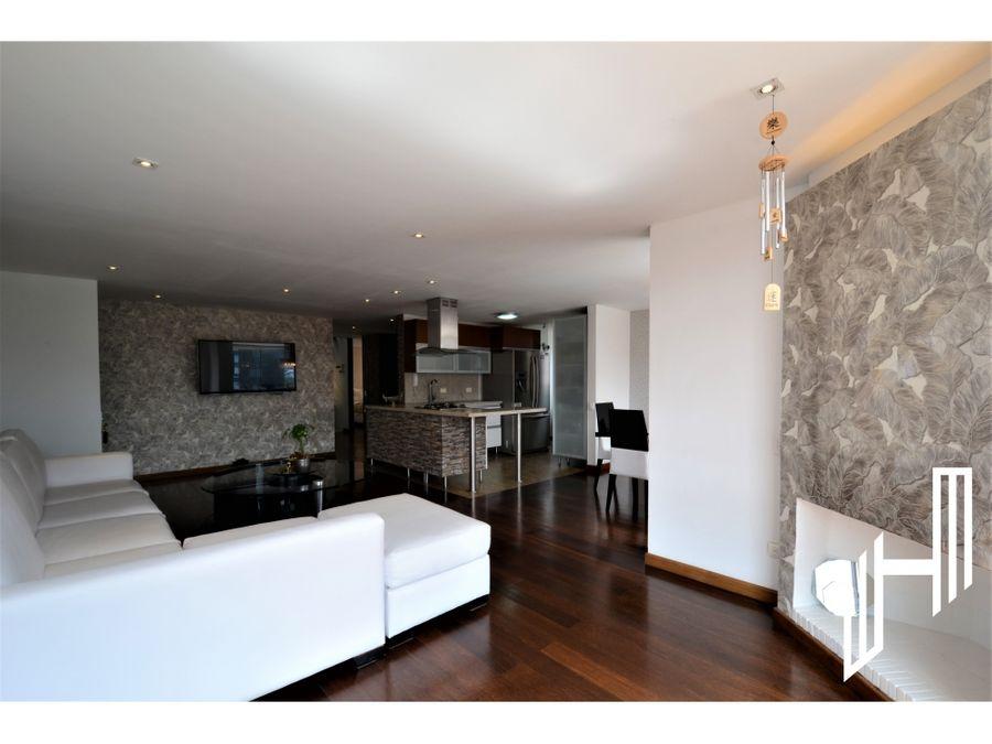 apartamento para venta duplex en chico navarra