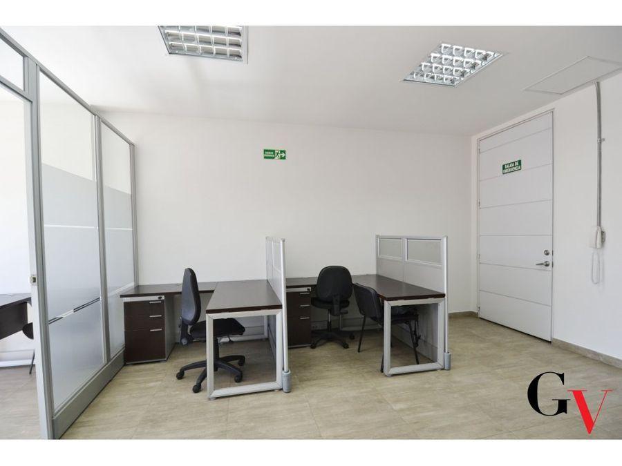 oficina en arriendo en el virrey