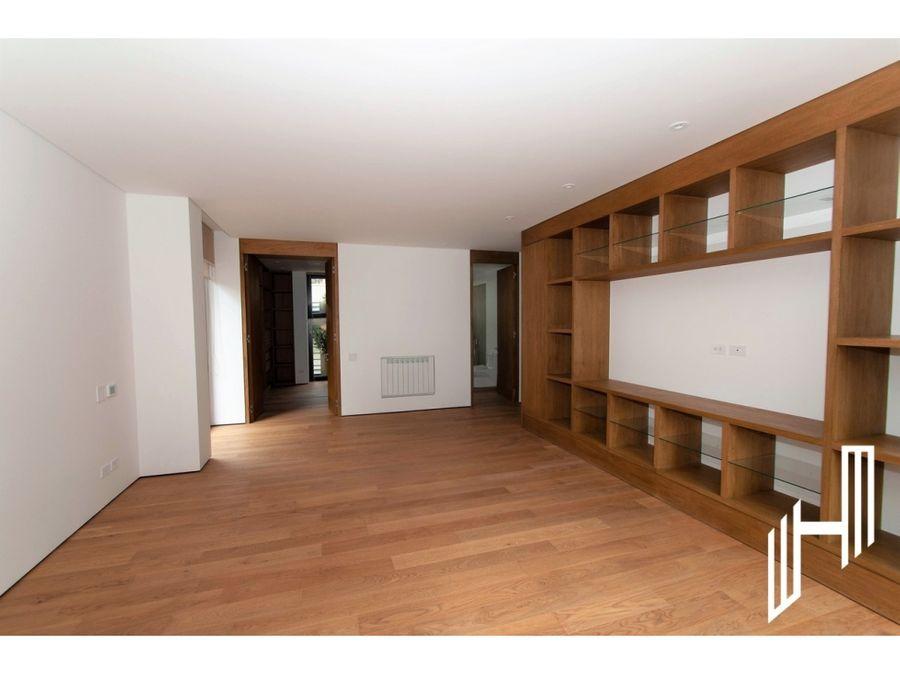 apartamento en venta edificio unico santa maria