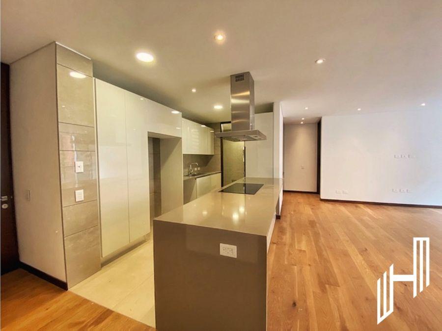 arriendo moderno apartamento con balcon en cabrera
