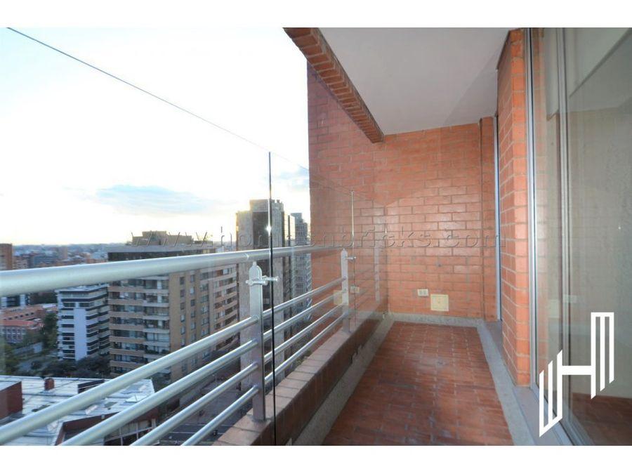 apartamento con balcon para arriendo en el refugio