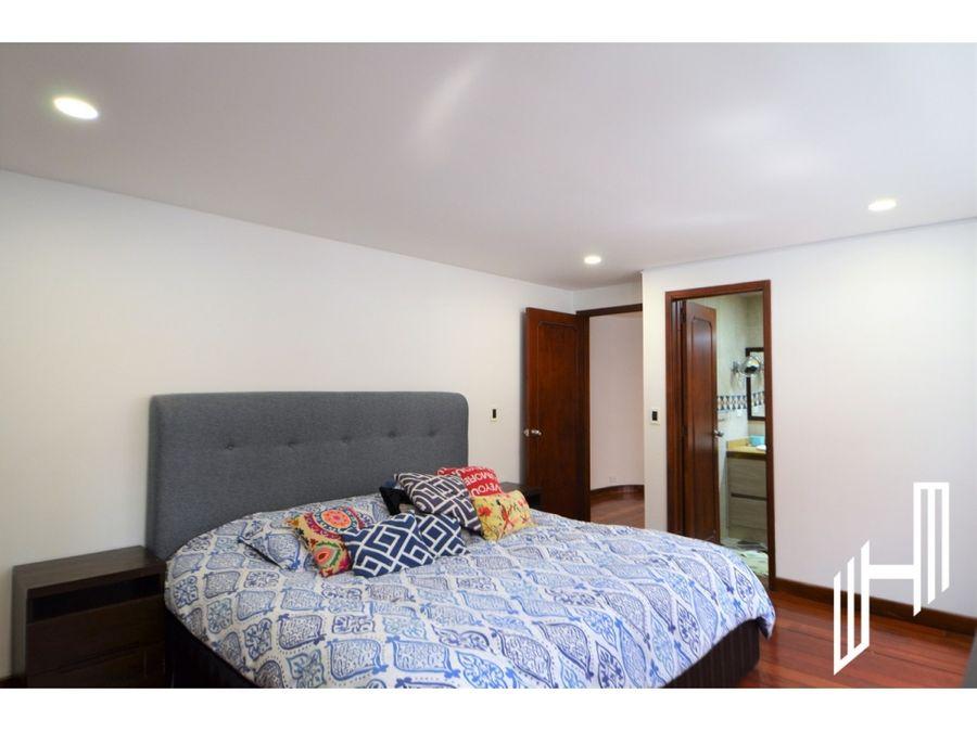 apartamento para arriendo con terraza en chico virrey