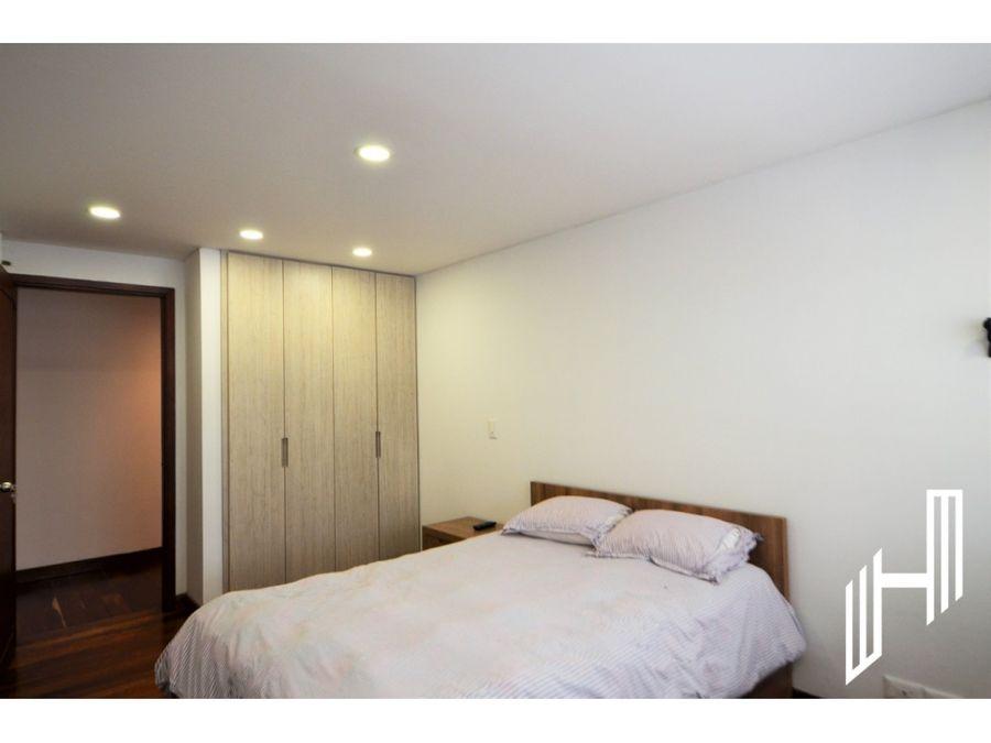 apartamento amoblado con terraza arriendo chico virrey