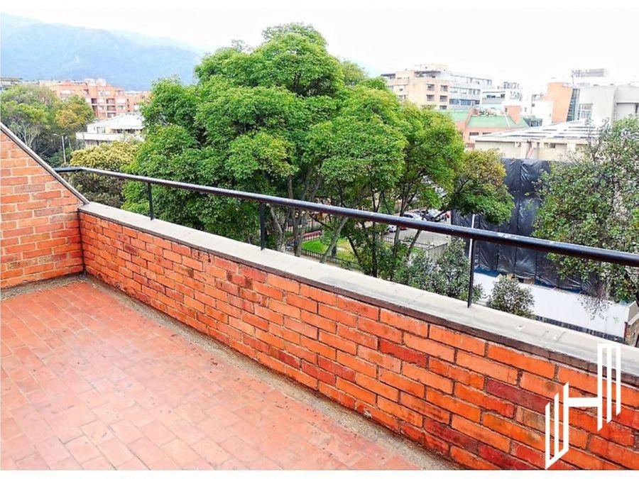 apartamento en ariendo con terraza en chico