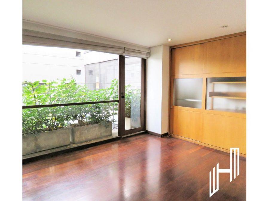 apartamento con balcones en arriendo en quinta camacho