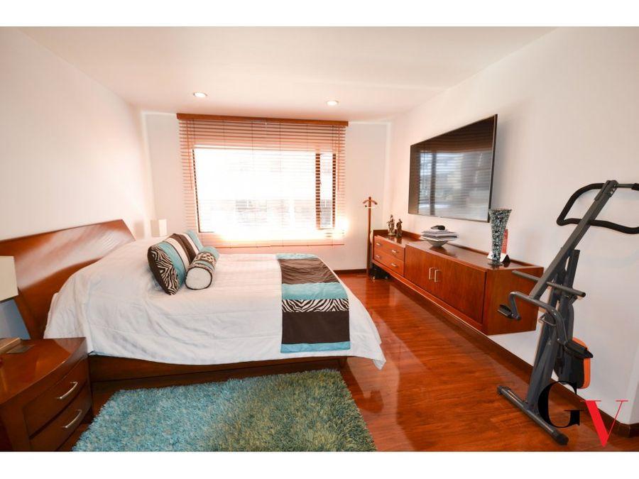 apartamento para venta con balcon en chico norte