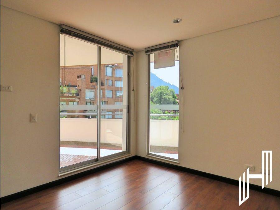 excelente apartamento con terrazas para arriendo en rosales