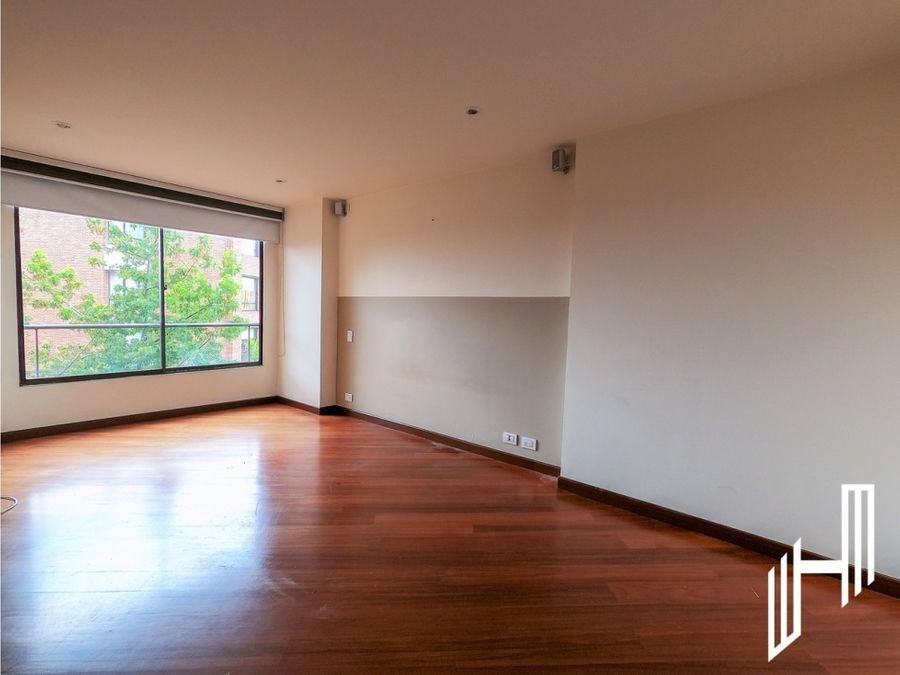 apartamento para venta con terraza en rosales