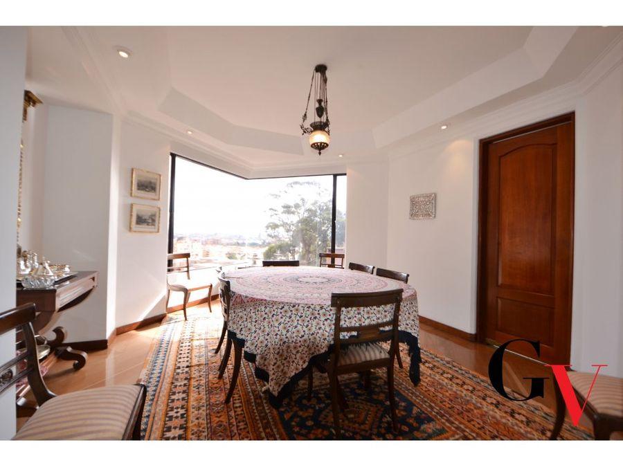 magnifico penthouse en venta en bosque medina