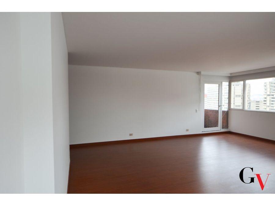 apartamento en arriendo con balcon sector exclusivo macarena