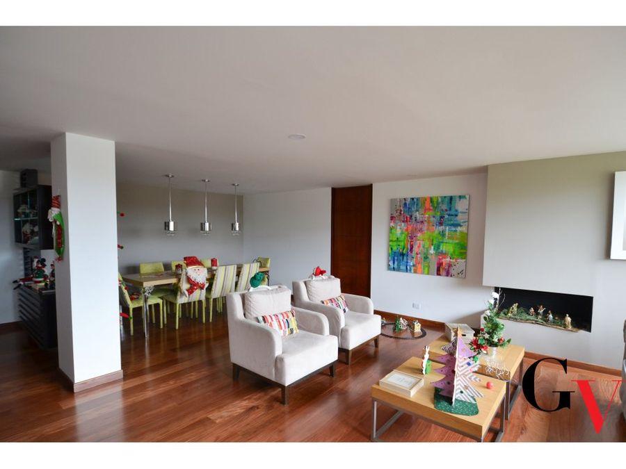 espectacular apartamento a la venta san patricio