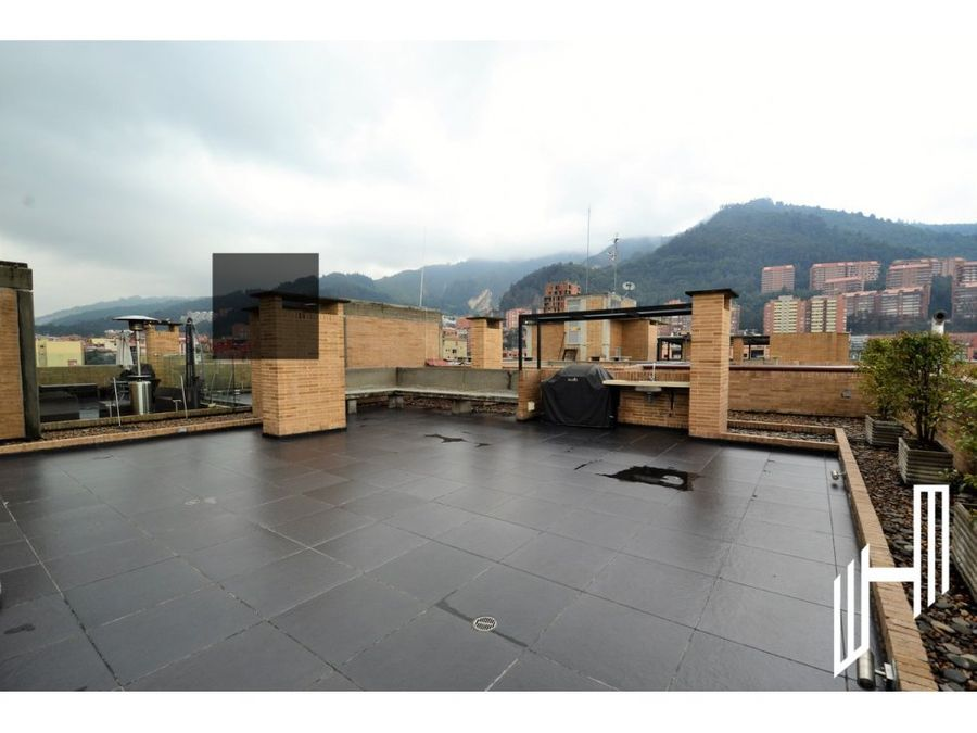 moderno duplex con terraza venta en santa barbara