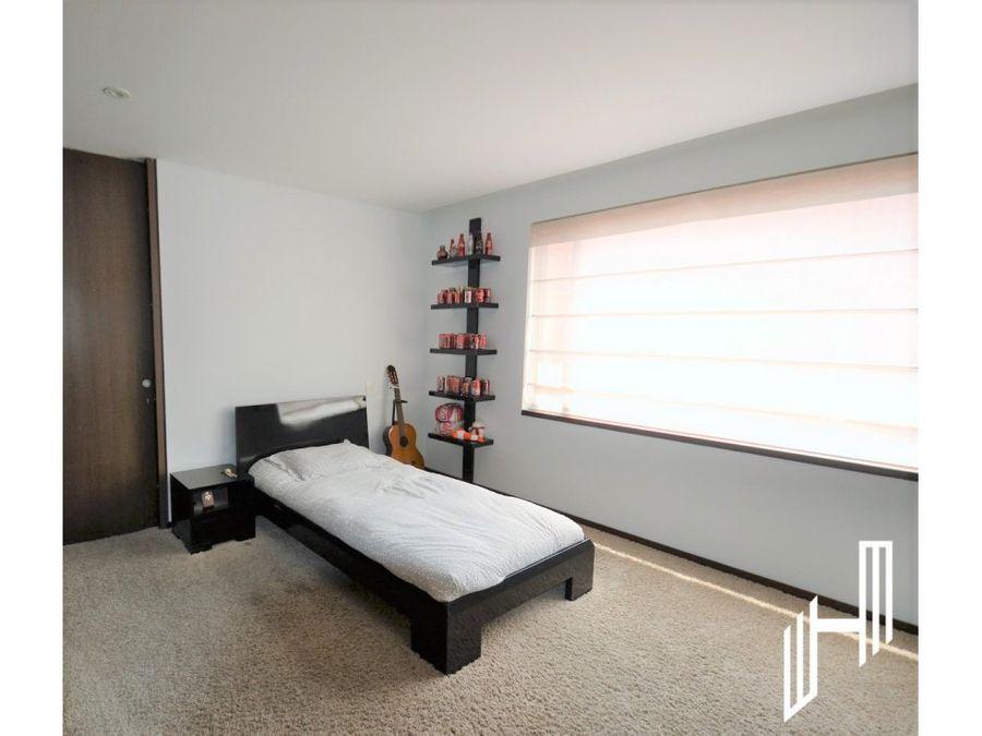 espectacular apartamento en chico para venta