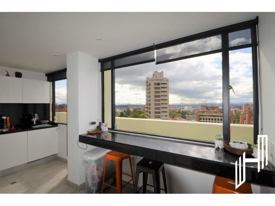 apartamento para arriendo con terraza en el nogal