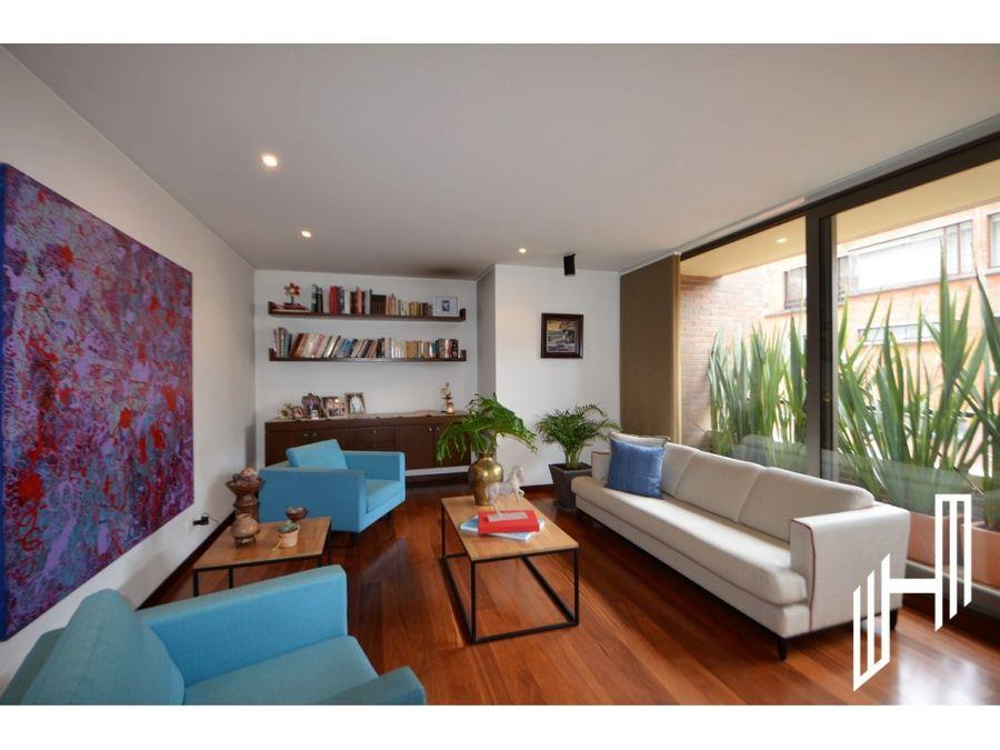 apartamento con terraza para venta en chico