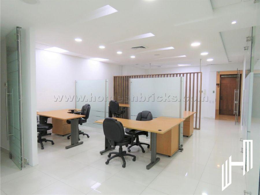 moderna oficina para arriendo en chico norte