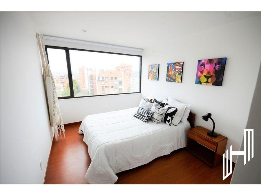 apartamento para arriendo amoblado en el refugio