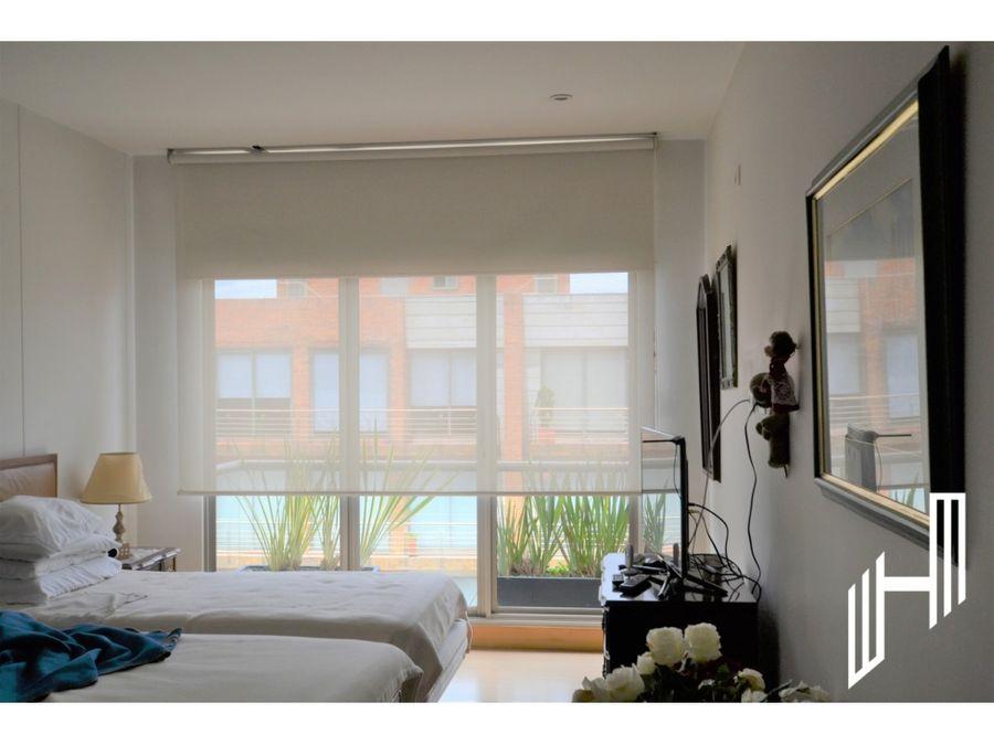 apartamento duplex para arriendo en chico reservado