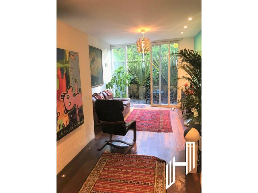 apartamento amoblado con terrazas para arriendo en rosales