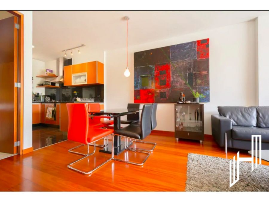 moderno apartamento amoblado para arriendo en chico norte