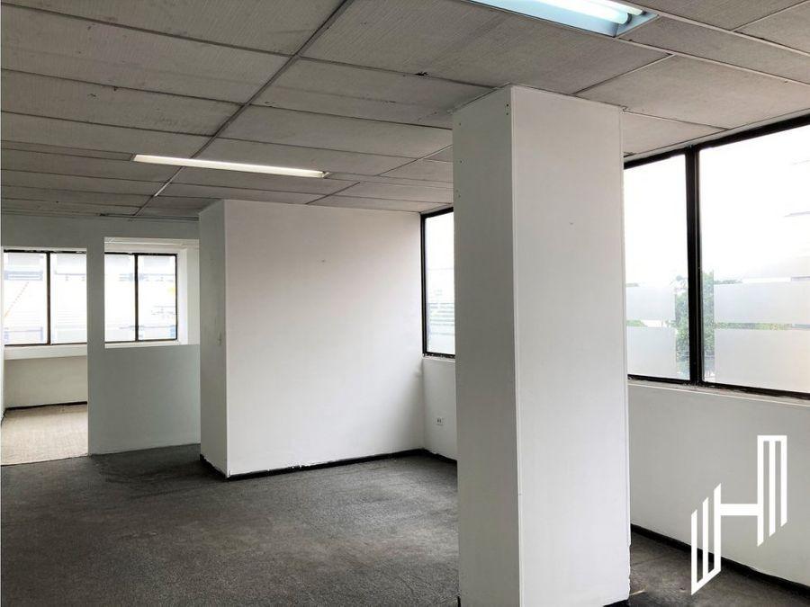 oficina para arriendo en santa barbara edificio jorge baron tv