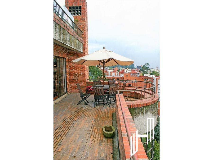 apartamento en venta con terraza en rosales