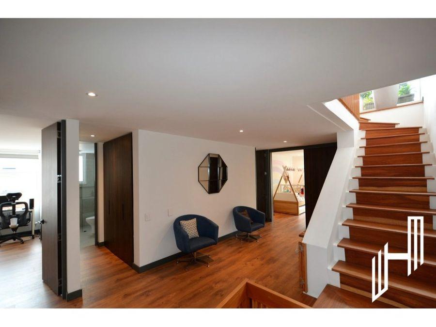 apartamento duplex para venta en rosales con terraza