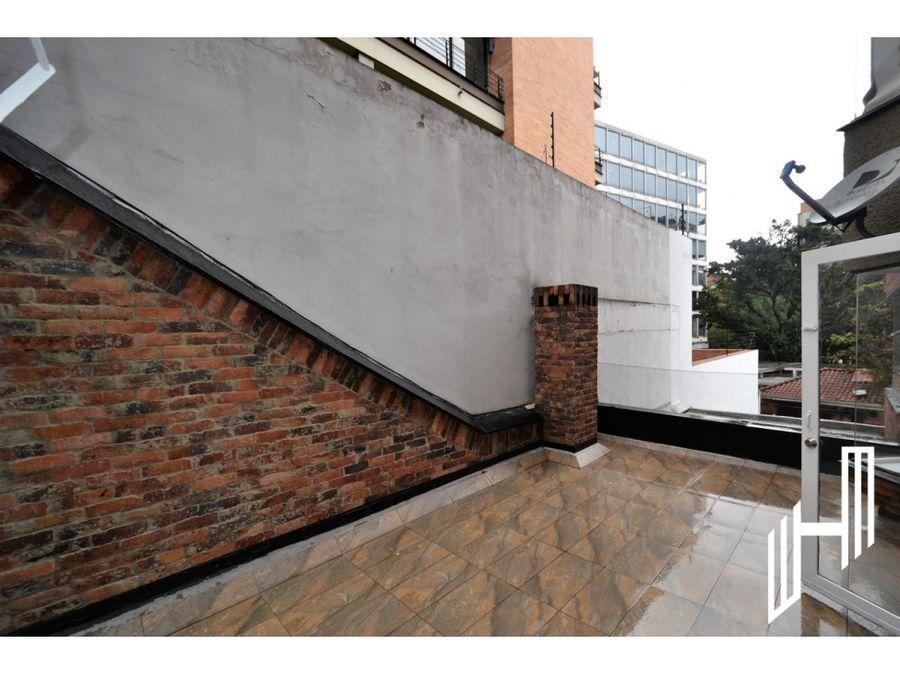 apartamento arriendo con terraza en cabrera