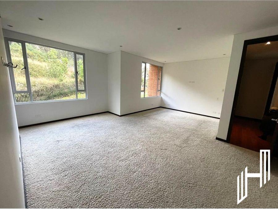 apartamento para venta en chapinero alto