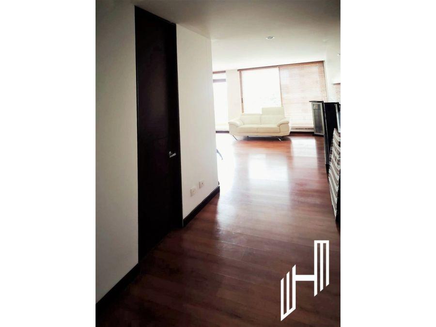 apartamento para venta con balcon en colina campestre
