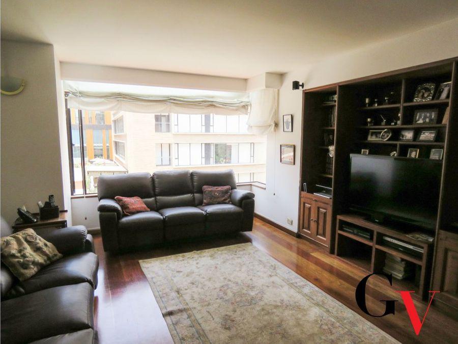 apartamento con terraza para venta en chico navarra