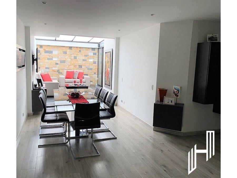 venta apartamento con terraza en chico