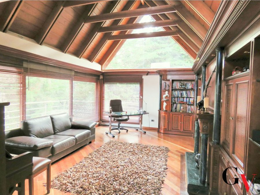 hermosa casa para venta en bosque de pinos