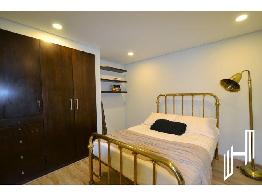 apartamento para venta en rosales con terraza