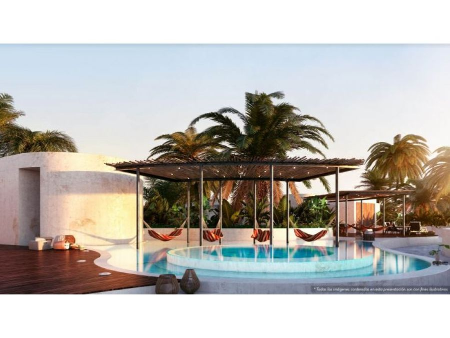 2 bed apartment in tulum with lockoof nivel 3 ah