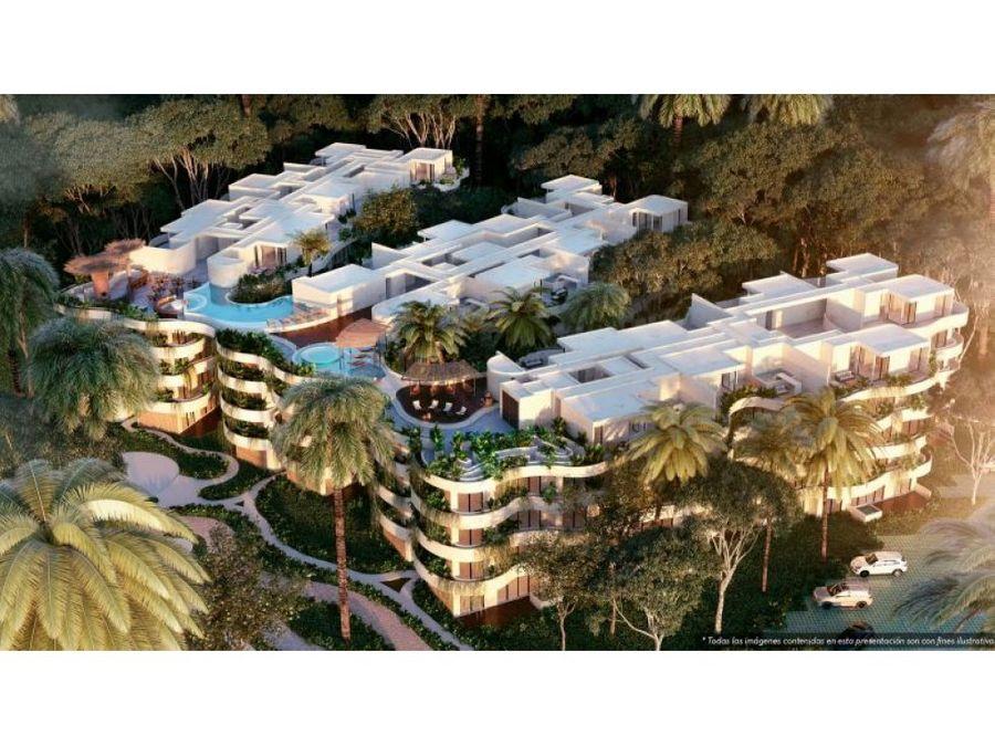 luxury apartment in tulum with lockoof nivel 2 ah