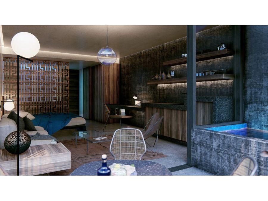 exclusivo studio amueblado y equipado en tulum ik