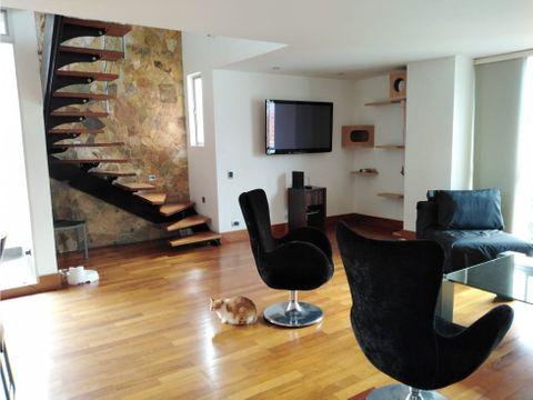 apartamento duplex tipo loft en conquistadores