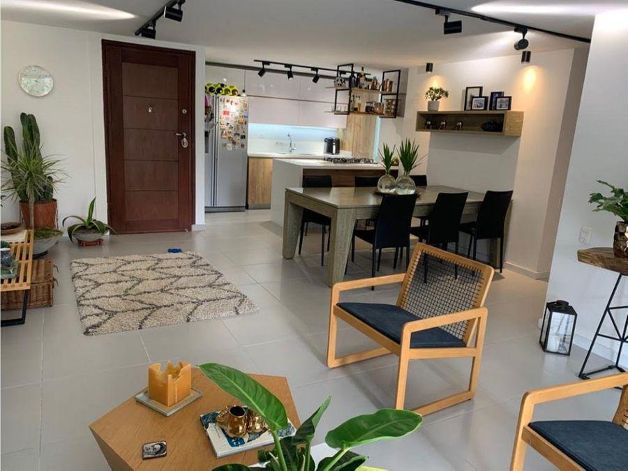 apartamento remodelado en benedictinos envigado