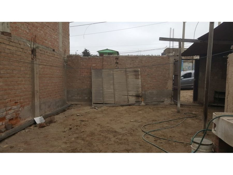 se vende terreno 200 m2 en avenida con titulo pachacutec ventanilla
