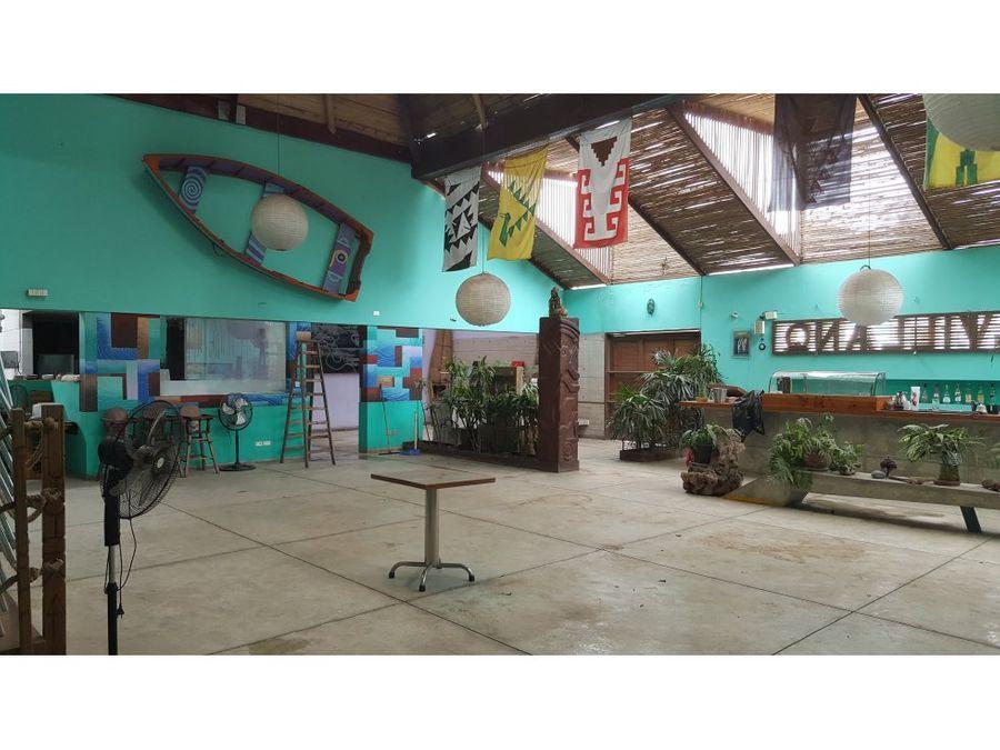 local comercial vendo como terreno 387mt2 barranco