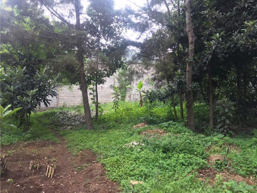 vendo terreno en el tejar chimaltenango