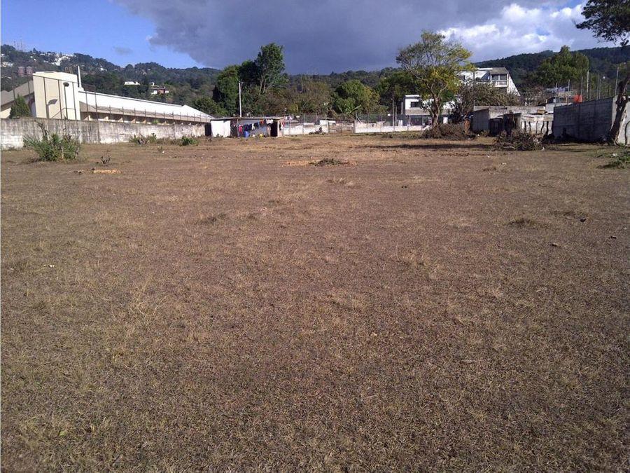 terreno en venta en santa catarina pinula centro